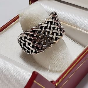 Jewelry - Hand Crafted Expandable Silver Ring